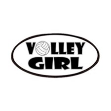 Volley Girl Patches