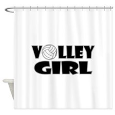 Volley Girl Shower Curtain