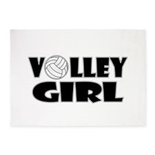 Volley Girl 5'x7'Area Rug