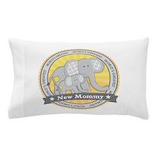 New Mom Elephant Pillow Case