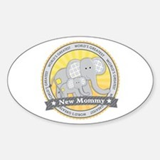 New Mom Elephant Decal