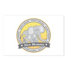 New Mom Elephant Postcards (Package of 8)