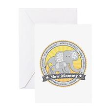 New Mom Elephant Greeting Card