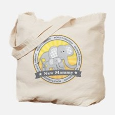 New Mom Elephant Tote Bag