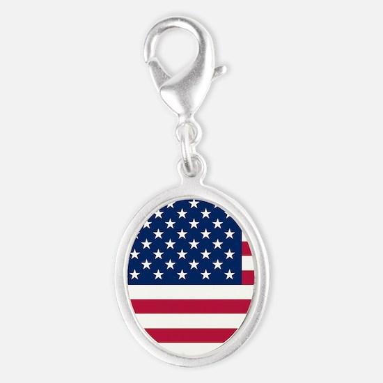 Patriotic American Flag Charms