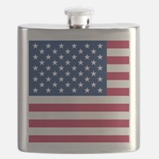 Patriotic American Flag Flask