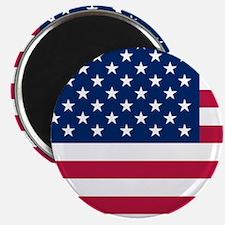 Patriotic American Flag Magnets