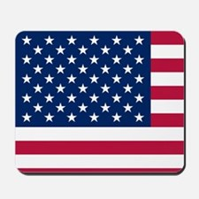 Patriotic American Flag Mousepad