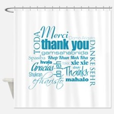 Thank You - Shower Curtain