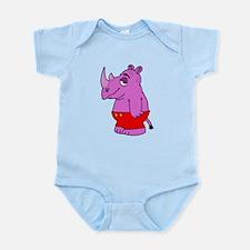 Purple Rhino Body Suit