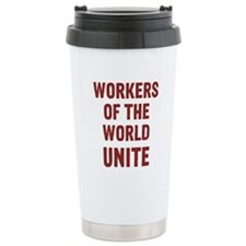 Cute Anti right to work Travel Mug