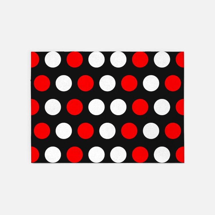 Polka Dots Rugs, Polka Dots Area Rugs