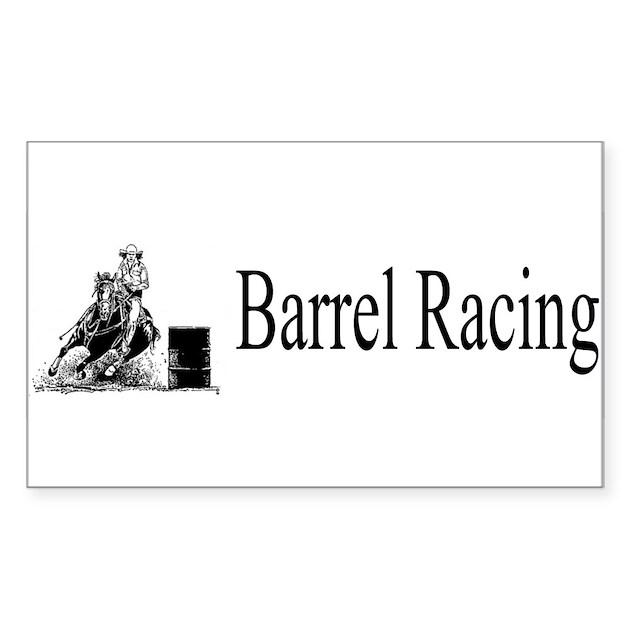barrel racing decal - photo #35