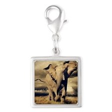 bull elephant Charms