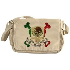 Cortez Skull Messenger Bag