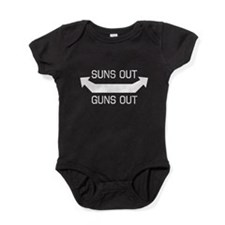 Suns out guns out Baby Bodysuit