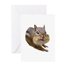 Funny Chipmunk Greeting Cards