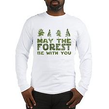 Cute Trees Long Sleeve T-Shirt