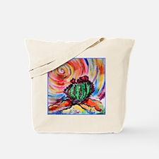 Cactus, colorful desert art, Tote Bag