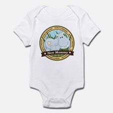 New Mom Hippo Infant Bodysuit
