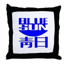 Firefly: Blue Sun Throw Pillow