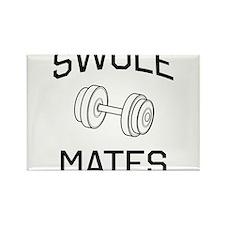Swole mates Magnets