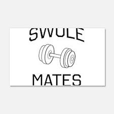 Swole mates Wall Decal