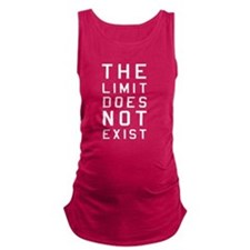 The limit does not exist Maternity Tank Top