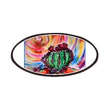 Cactus, colorful desert art, Patches