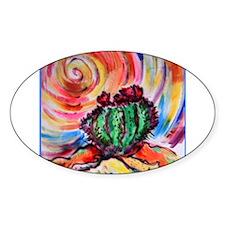 Cactus, colorful desert art, Decal
