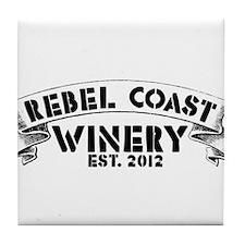 Cute Winery Tile Coaster