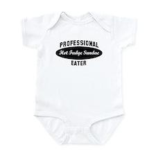 Pro Hot Fudge Sundae eater Infant Bodysuit