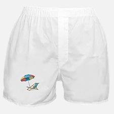 Cute Beach Boxer Shorts