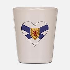 Love Nova Scotia Shot Glass