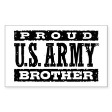 Proud U.S. Army Brother Decal