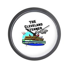The Cleveland Steamer Wall Clock