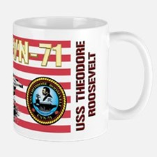 CVN-71 USS Theodore Roosevelt Mug