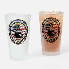 CVN-71 USS Theodore Roosevelt Drinking Glass
