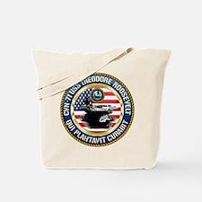 CVN-71 USS Theodore Roosevelt Tote Bag
