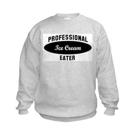 Pro Ice Cream eater Kids Sweatshirt