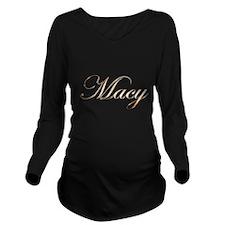 Macy Long Sleeve Maternity T-Shirt