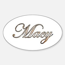 Macy Sticker (Oval)