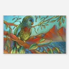 St Lucia Parrot Decal
