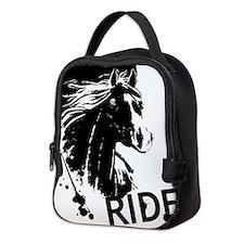 HORSE RIDE Neoprene Lunch Bag