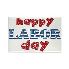 Labor Day Rectangle Magnet
