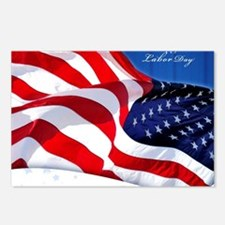 Labor Day Postcards (Package of 8)