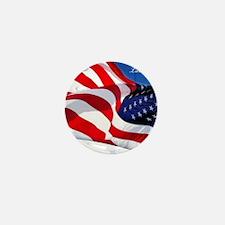 Labor Day Mini Button