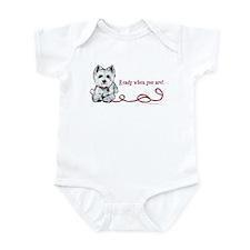 Westhighland White Terrier Re Infant Bodysuit
