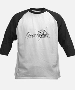 Geocaching Tattoo Compass Baseball Jersey