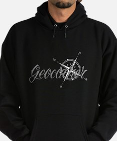 Geocaching Tattoo Compass Hoodie
